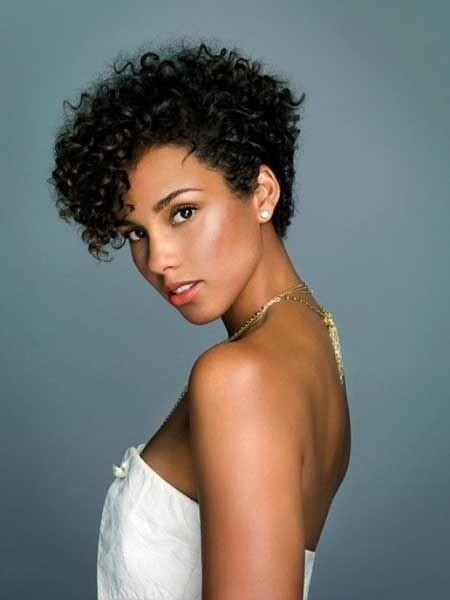 50 Boldest Short Curly Hairstyles for Black Women [2018]