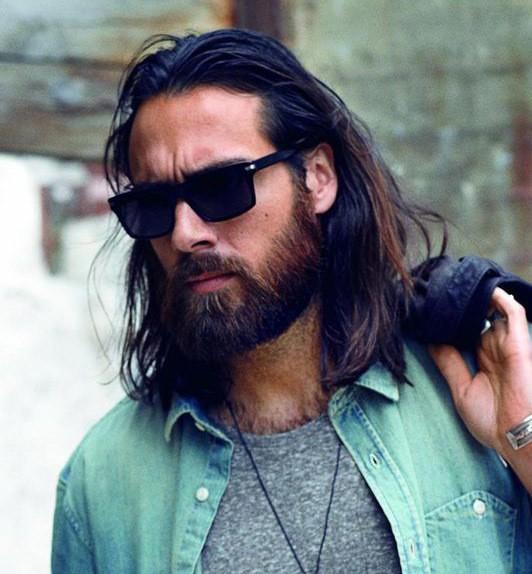 Awe Inspiring 10 Perfect Long Hairstyles With A Short Beard Short Hairstyles Gunalazisus