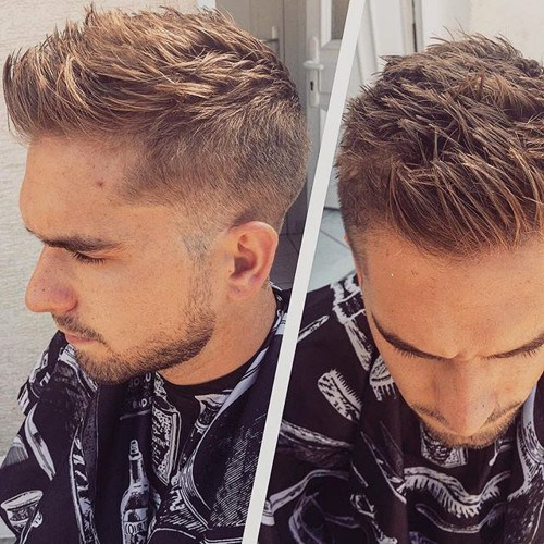 60 awe inspiring mohawk fohawk fade hairstyles for men if you are not ready for wild hair solutions you can just settle for spikes if your hair has grown long enough on top then you can make all types of urmus Gallery