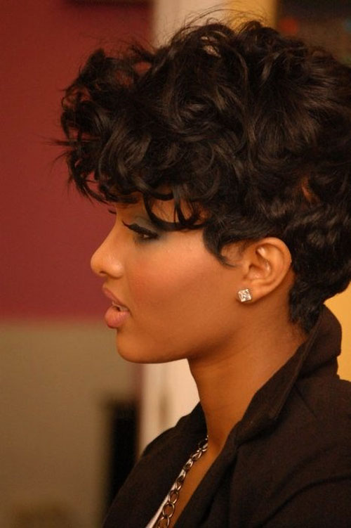 Short Hairstyles For African American Women african american women short hairstyles and haircuts 2017 2018 35 Thick Pixie