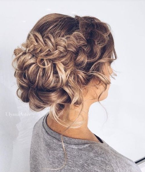 cool Braid burst haircut for girl