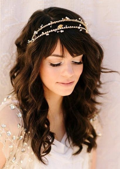 20 Best Hair Down Styles for Brides HairstyleCamp