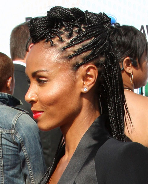 Awesome 25 Wild Amp Fashionable Mohawk Hairstyles For Black Women Hairstyles For Women Draintrainus