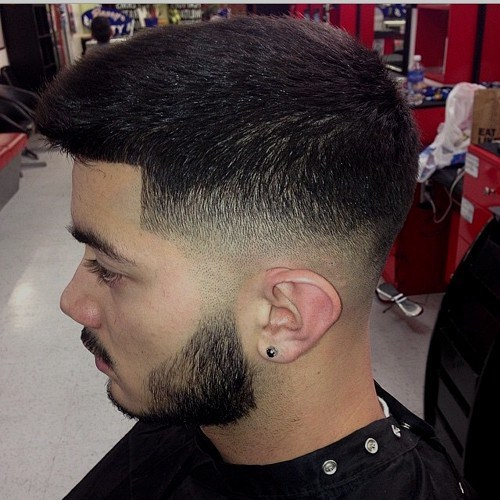 7 Terrific Taper Fade Haircuts With Beard Hairstylecamp