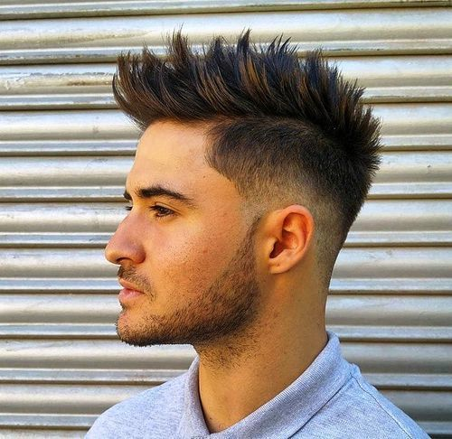 60 awe inspiring mohawk fohawk fade hairstyles for men textured and highlighted pmusecretfo Choice Image