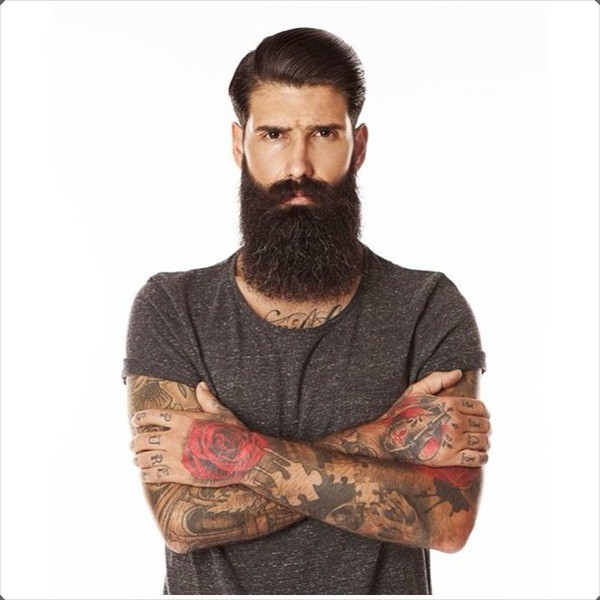 12 Short Hairstyles With Long Beard For Rugged Manly Look