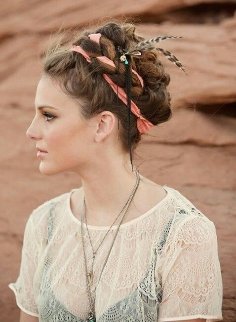Bohemian Hairstyles   25 Best Bohemian Hairstyles For Every Girl Hairstylecamp