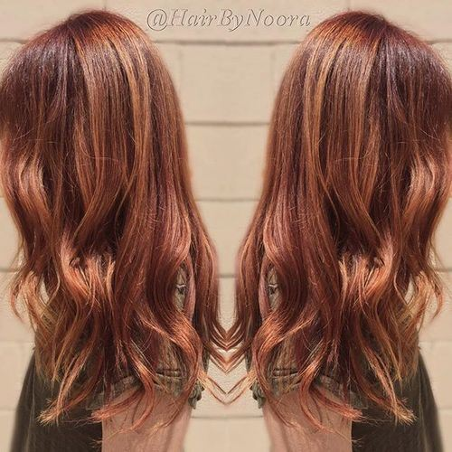 20 startling auburn hair color ideas with blonde highlights auburn hair with blonde pmusecretfo Choice Image