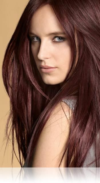 Cherry Brown Red Light Hair Style For