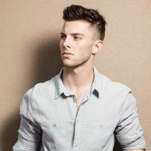 Sexy hairstyles for men with short hair