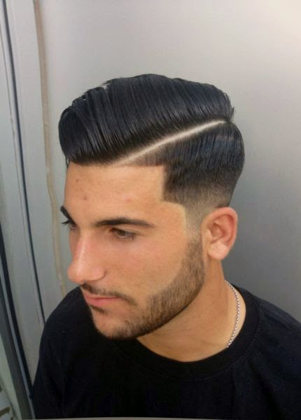 mens haircuts with lines 20 sharp line up haircuts for guys hairstylecamp 1307