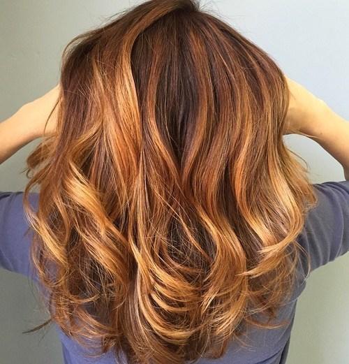 dark auburn brown hair color ideas