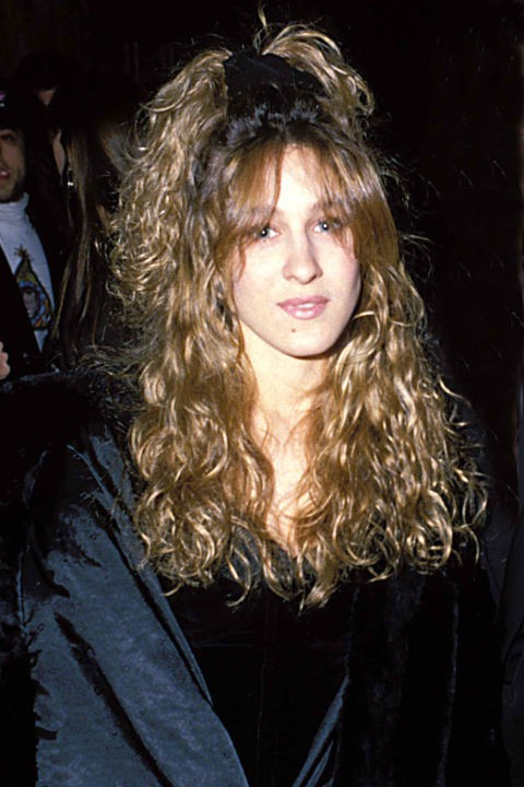 old ombre hairstyle for 1992