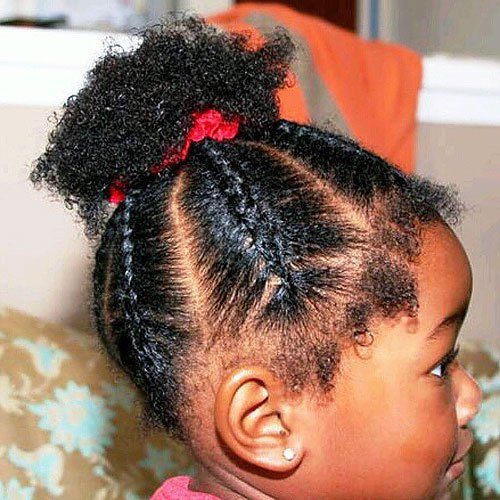 20 New African American Black Toddler Girl Hairstyles