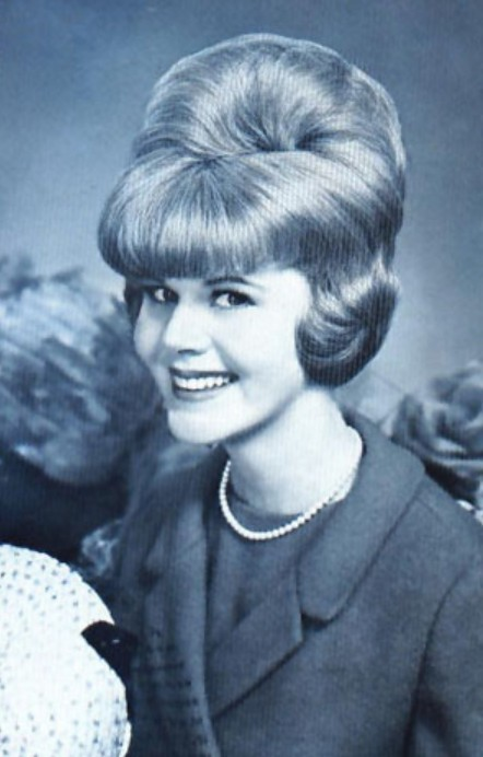 Classic beehive with Bouffant Hairstyles