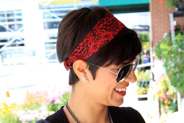 Beehive Hairstyles with Bandanas for women
