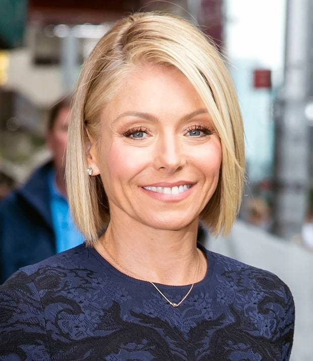 Kelly Ripa S Top 10 Greatest Haircuts Hairstylecamp