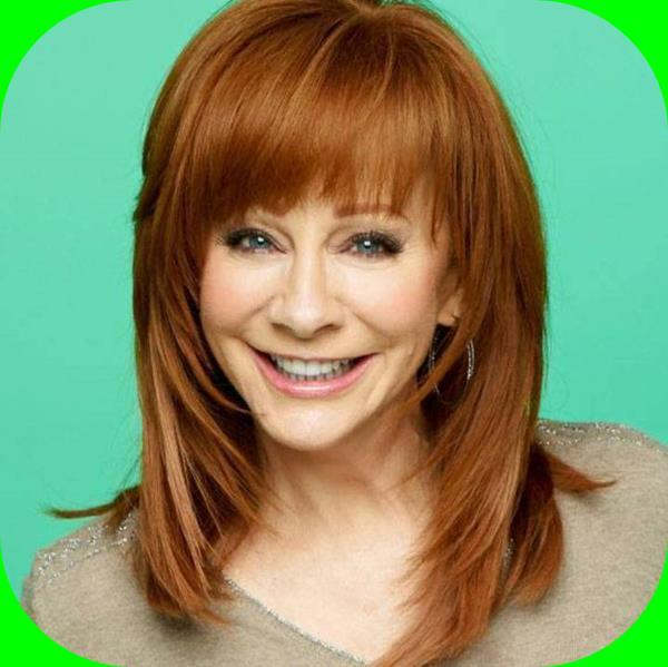 Asymmetry Reba Mcentire Hairstyle