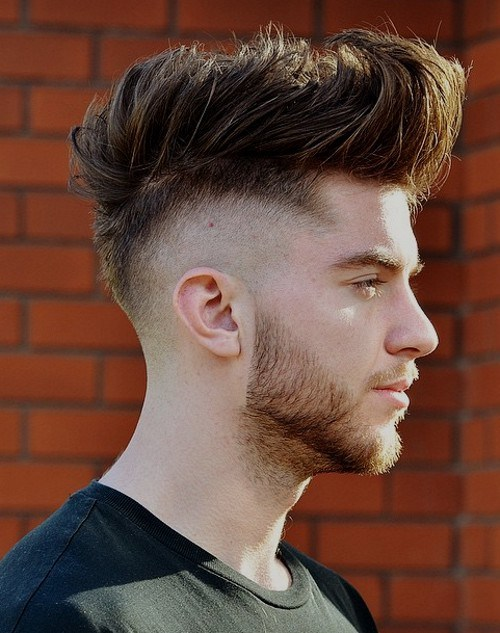 A Very High Taper Fade Is A Great Base For Your Mixed Haircut. Shave Most  Of The Hair On The Sides Of The Head And Leave Just One Or Two Inches Below  ...