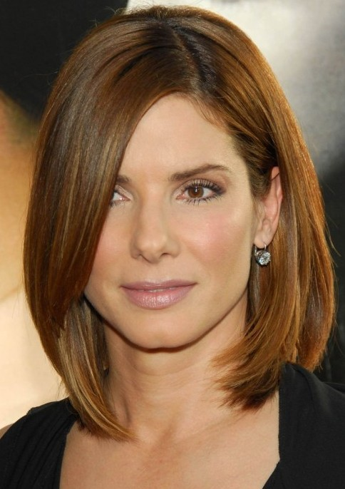 Asymmetrical Bob Shoulder Haircuts For Women