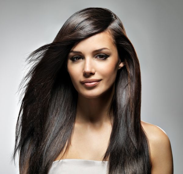 highlight black hairstyle for young girl