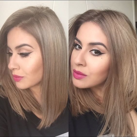 20 smokey dark ash blonde hair color ideas hairstylecamp you will need to brush upwards from the roots this gives your locks volume right from the base subtle dark ash blonde highlights also give pmusecretfo Image collections