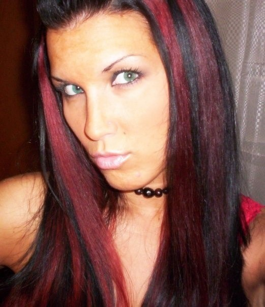 25 red highlights on black hair to gear up your style hairstylevill full blown red highlights on black hair look truly amazing if you are ready for the stunning black and red look dont hide behind ombres and partially pmusecretfo Images
