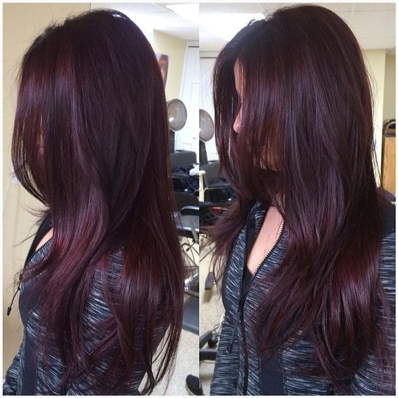 Add Subtle Violet Hair Color Shades To A Dark Hairstyle Give Your An Amazing Unique Look This Will Like Normal Black Or Brown
