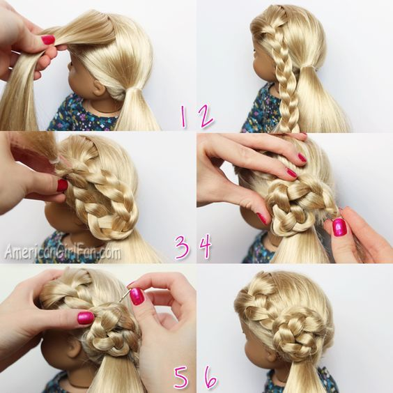 American Girl Doll Hairstyles Step By Step Sbiroregon Org