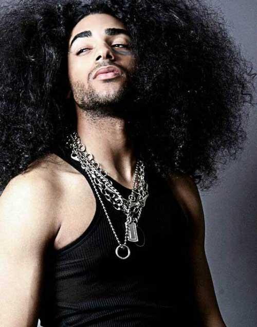 Delightful Black Menu0027s Very Long Hairstyles