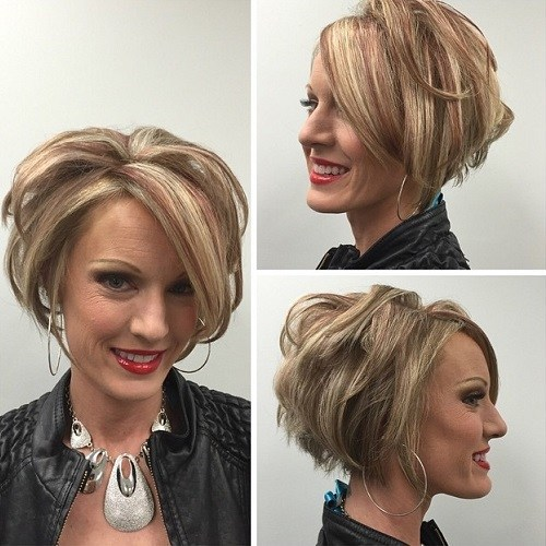Spunky bob hairstyle for women