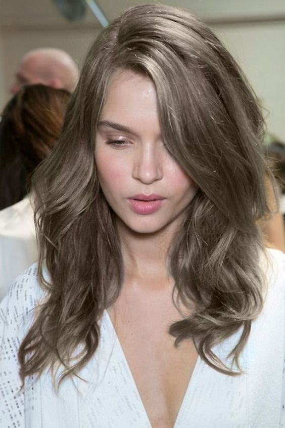 New Hairstyle 2016 Medium Brown Hair With Blonde Highlights S Of Smokey Color Google