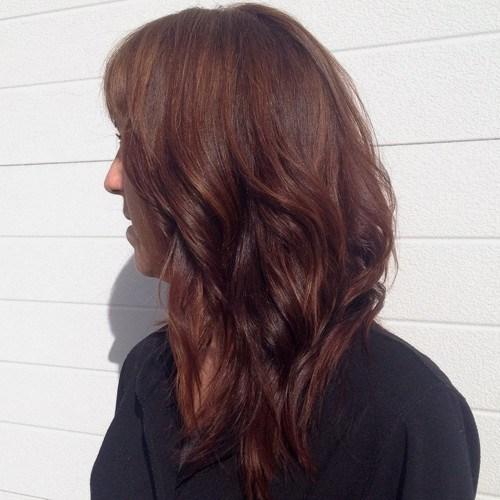 chestnut brown hair color ideas