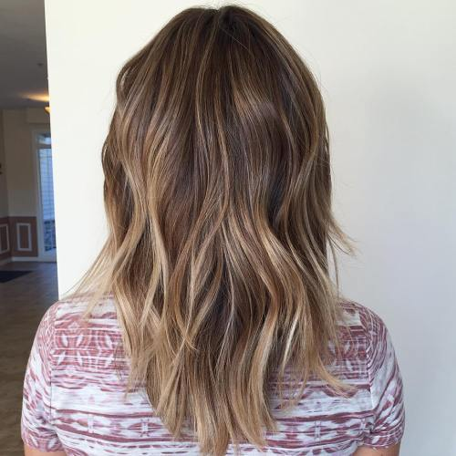 A Mix Of Brown Color Is Great Choice For An Ombre Or Balayage Shades Are Often Overlooked Due To Seeming Very Mundane However There So Many