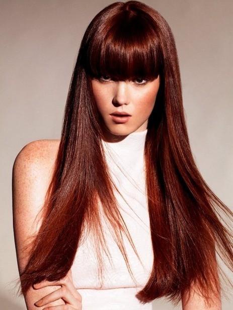 best mahogany brown haircut you like
