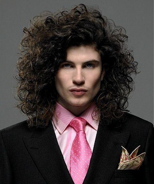 Curly fun hairstyle you like