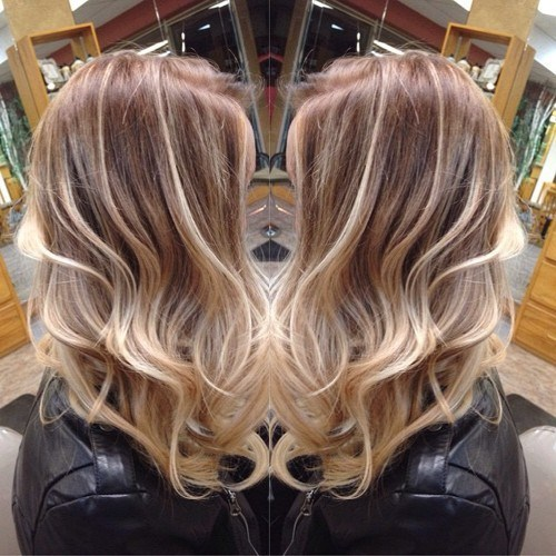 Chestnut Brown Looks Especially Alluring When Mixed With Diffe Shades Of Blonde Don T Be Afraid To Experiment Highlights On Your