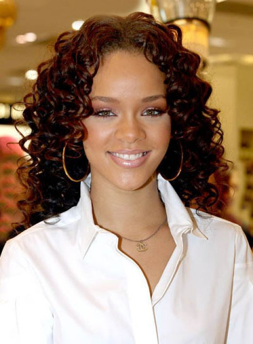 black women Tight curls short hair