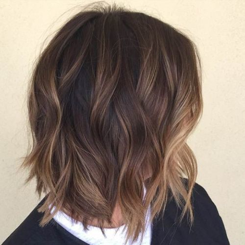 blond and dark brown balayage ombre Hair for girl