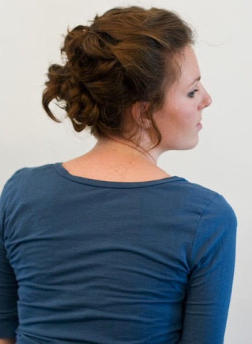 French braid updos hairstyle you like