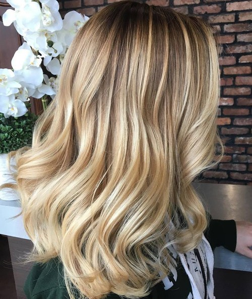 50 Luscious Dark & Honey Blonde Hair Color Ideas