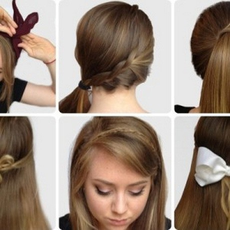 hairdos Side braid with ponytail for girl