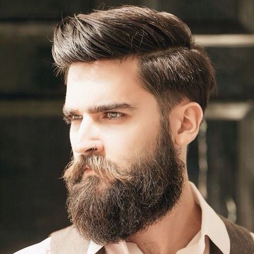 long taperfade with high comb over