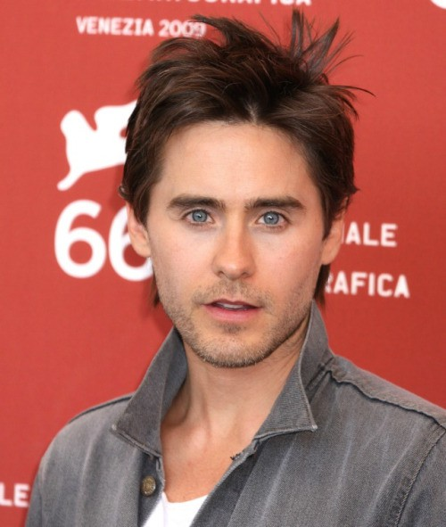 Jared Leto Spiked Crown haircut you like