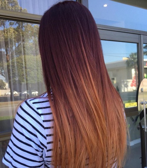 Dark Cherry Hair Color New 60 Best Ombre Ideas For Blond Brown Red And