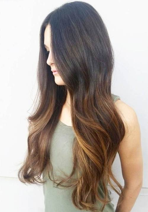 Colorful ombre hairstyle you like