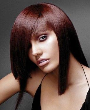 Reddish brown hair colour ideas
