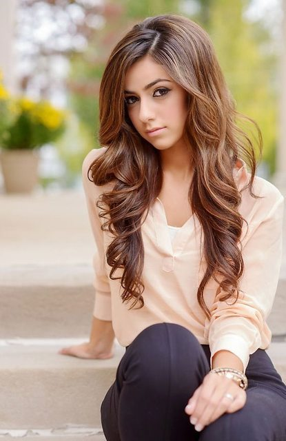 50 light dark brown hair colors for smart girls this java frost option makes your hair look bright due to just a few light brown highlights which are urmus Images