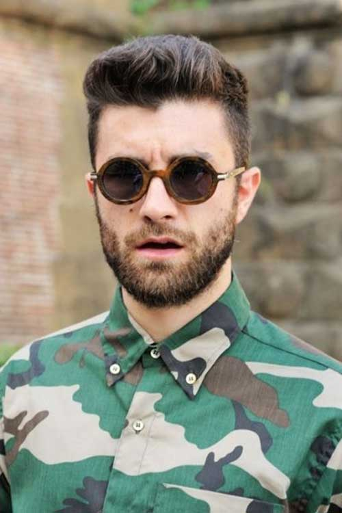 Wonderful Cool Men Hair Styles For Round Faces