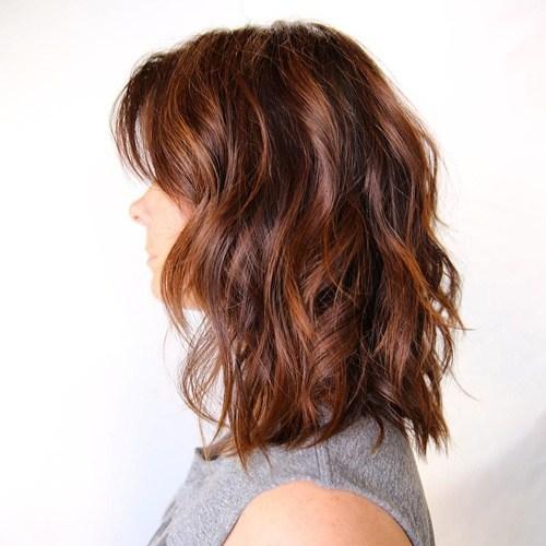 Wavy Bob hairstyle for women